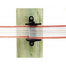 Aislador de esquina para cinta con tensor