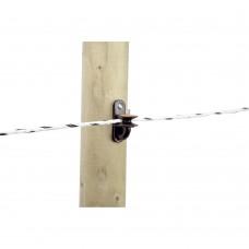 Aislador de poste madera para cordón