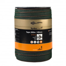 Cinta Turbo Tape verde 40 mm (rollo 200 m)