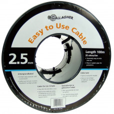 Cable doble aislado de 2,5 mm (rollo 100 m)