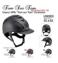 """Casco Gpa """"ton Sur Ton"""" Evolution"""