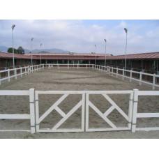 Puerta para vallado PVC