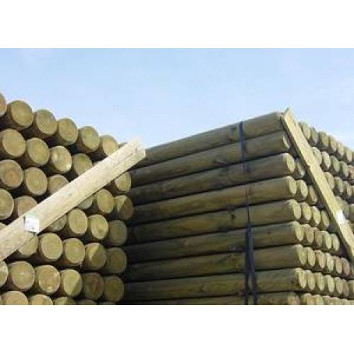 Postes torneados de madera tratada - Madera tratada exterior ...