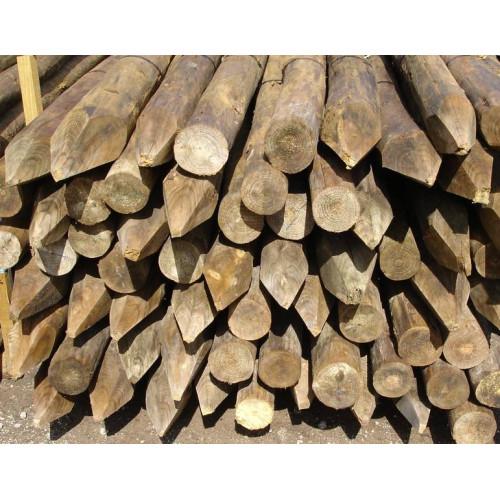 Postes de madera tratada en autoclave - Postes de madera tratada ...
