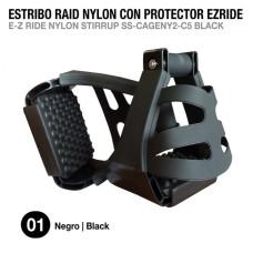 ESTRIBO RAID NYLON CON PROTECTOR EZRIDE