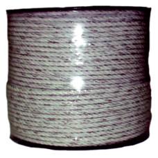 CORDON CERCA ELECTRICA (BOBINA 200 M.) 3 H. CONDUCTORES BLANCO