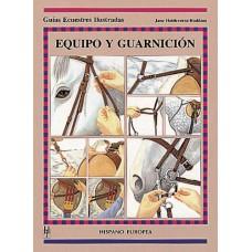 LIBRO GUÍAS ECUESTRES ILUSTRADAS EQUIPO Y GUARNICIÓN