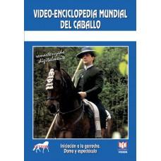 DVD VÍDEO-ENCICLOPEDIA MUNDIAL DEL CABALLO INICIACIÓN A LA GARROCHA, DOMA Y ESPECTÁCULO