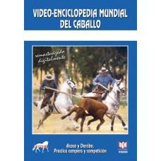DVD VÍDEO-ENCICLOPEDIA MUNDIAL DEL CABALLO ACOSO Y DERRIBO,PRÁCTICA CAMPERA Y COMPETICIÓN