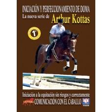 DVD INICIACIÓN Y PERFECCIONAMIENTO DE DOMA. COMUNICACIÓN CON EL CABALLO