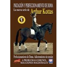 DVD INICIACIÓN Y PERFECCIONAMIENTO DE DOMA ADIESTRAMIENTO SIN TENSIÓN. A PROBLEMAS COMUNES, SOLUCION
