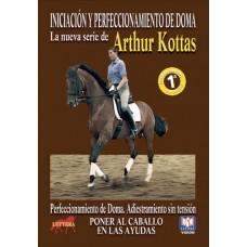 DVD INICIACIÓN Y PERFECCIONAMIENTO DE DOMA ADIESTRAMIENTO SIN TENSIÓN. PONER AL CABALLO EN LAS AYUDA