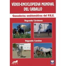 DVD VÍDEO-ENCICLOPEDIA MUNDIAL DEL CABALLO YEGUADA CÁRDENAS-YEGUADA CANDAU