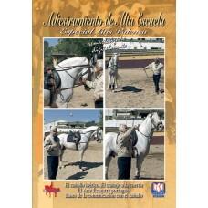 DVD ADIESTRAMIENTO DE ALTA ESCUELA EL CABALLO IBÉRICO. EL TRABAJO A LA CUERDA. EL ARTE ECUESTRE PORT