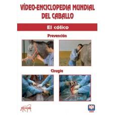 DVD VÍDEO-ENCICLOPEDIA MUNDIAL DEL CABALLO EL CÓLICO. PREVENCIÓN. CIRUGÍA