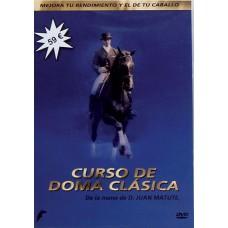 DVD CURSO DE DOMA CLÁSICA DE LA MANO DE D. JUAN MATUTE