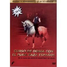 DVD CURSO DE DOMA CON EL PURA RAZA ESPAÑOL DE LA MANO DE ADOLFO MARTÍNEZ DE BUJO