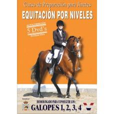DVD CURSO DE PREPARACIÓN PARA JINETES. EQUITACIÓN POR NIVELES