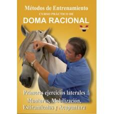 DVD MÉTODOS DE ENTRENAMIENTO. CUROS PRÁCTICO DE DOMA RACIONAL. PRIMEROS EJERCICIOS LATERALES. MONTUR