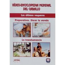 DVD VÍDEO-ENCICLOPEDIA MUNDIAL DEL CABALLO. A GALOPAR, JINETES Y CABALLOS. LOS ÚLTIMOS VAQUEROS. PRE